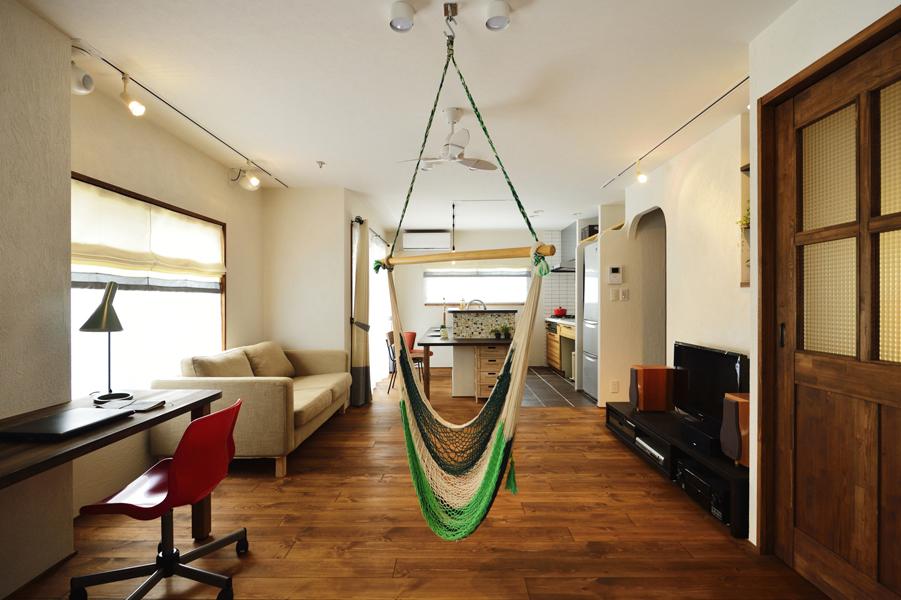 1000万円台で賃貸アパート部屋を大胆リノベ、光熱費も削減!